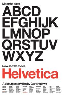 Helvetica Film Poster 1